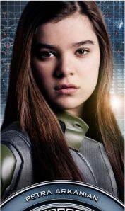 poster of Hailee Steinfeld as Petra Arkanian in Ender's Game